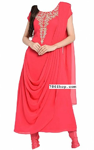 Pink Georgette Suit | Pakistani Dresses in USA