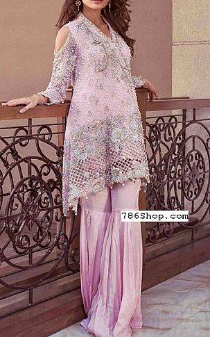 Pink Chiffon Suit | Pakistani Wedding Dresses in USA
