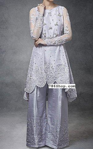 Lilac Crinkle Chiffon Suit | Pakistani Party and Designer Dresses