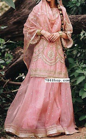Pink Organza Suit | Pakistani Wedding Dresses