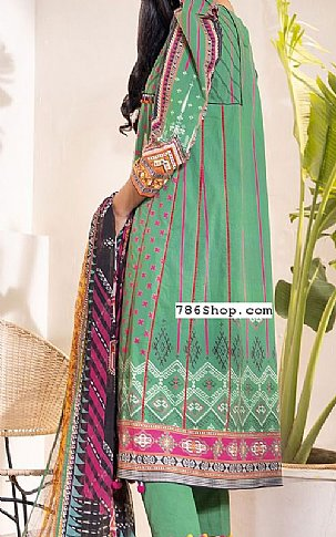 Green Cambric Suit | Pakistani Winter Clothes in USA