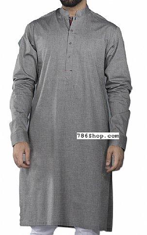 d4fd9abc88 Grey Men Shalwar Kameez | Buy Pakistani Indian Dresses | 786Shop.com
