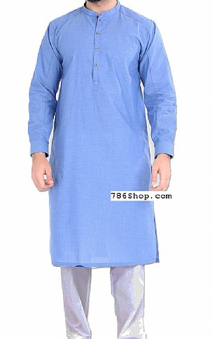 Turquoise Men Shalwar Kameez | Pakistani Dresses in USA