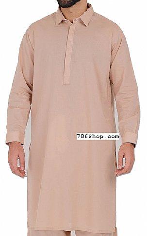 Peach Men Shalwar Kameez | Pakistani Dresses in USA