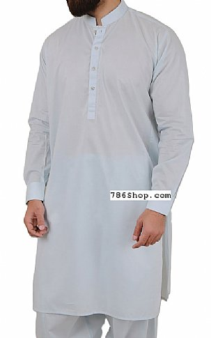 Light Blue Men Shalwar Kameez | Pakistani Dresses in USA