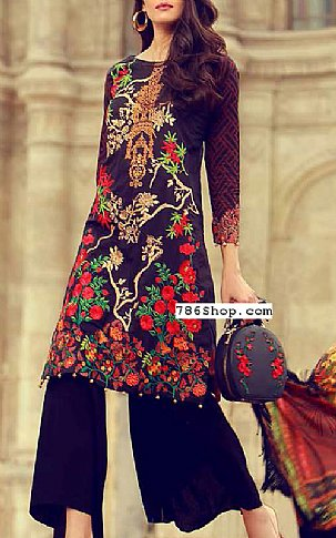 Black Lawn Suit | Pakistani Lawn Suits in USA
