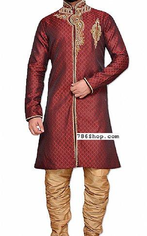 Modern Sherwani 112 | Pakistani Sherwani Online, Sherwani for Men