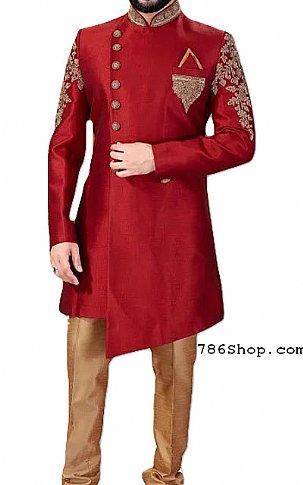 Modern Sherwani 126   Pakistani Sherwani Online, Sherwani for Men