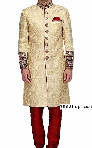 Modern Sherwani 127 | Pakistani Sherwani Online, Sherwani for Men