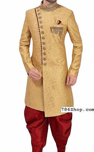 Modern Sherwani 131 | Pakistani Sherwani Online, Sherwani for Men
