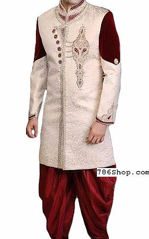 Modern Sherwani 132   Pakistani Sherwani Online, Sherwani for Men