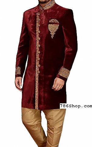 Modern Sherwani 135   Pakistani Sherwani Online, Sherwani for Men