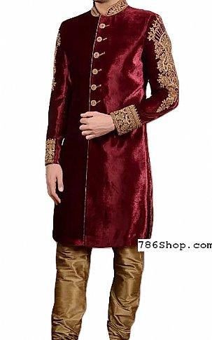 Modern Sherwani 136 | Pakistani Sherwani Online, Sherwani for Men