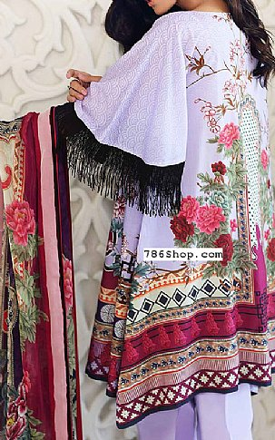 Lilac Lawn Suit | Pakistani Lawn Suits in USA