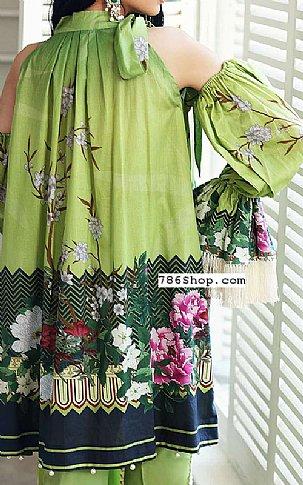 Green Lawn Suit | Pakistani Lawn Suits