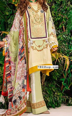 Mint Green Lawn Suit | Pakistani Lawn Suits in USA