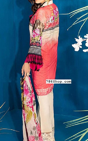 Brink Pink Lawn Suit | Pakistani Lawn Suits in USA