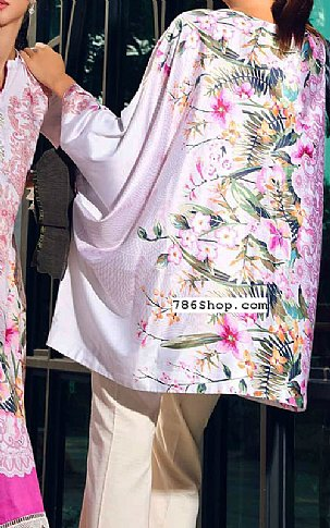 Pink Cotton Satin Kurti | Pakistani Winter Clothes
