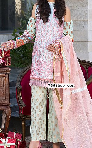 Pink Lawn Suit   Pakistani Lawn Suits