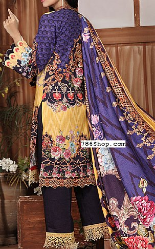 Yellow Khaddar Suit | Pakistani Winter Clothes in USA