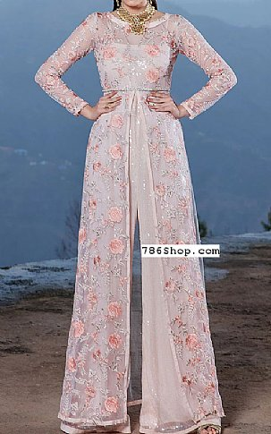 Ivory Chiffon Suit | Pakistani Chiffon Dresses in USA