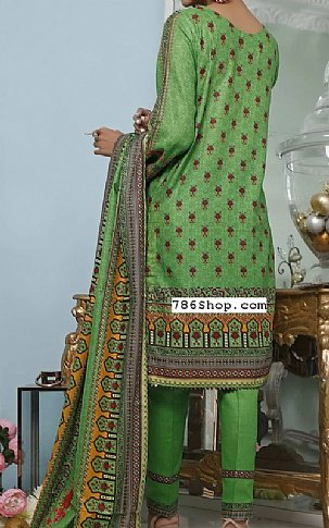 Green Cottel Suit   Pakistani Winter Clothes in USA