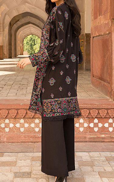 Black Karandi Suit | Pakistani Winter Clothes