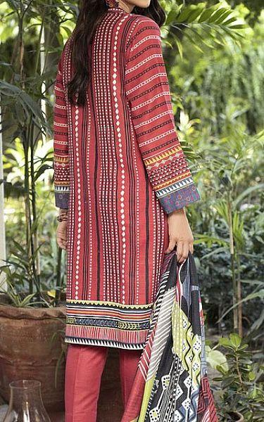 Brink Pink Khaddar Suit | Pakistani Winter Clothes