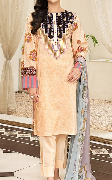 Ivory Cambric Suit   Pakistani Winter Clothes