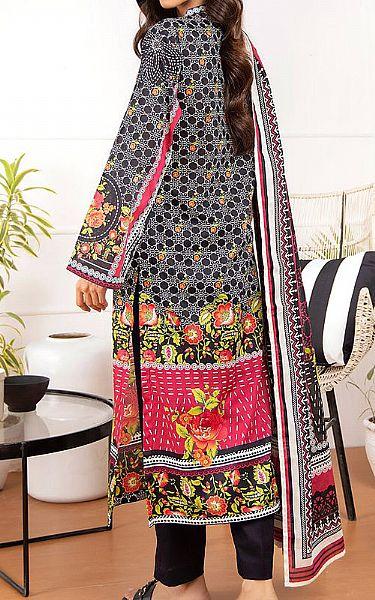 Magenta Lawn Suit | Pakistani Lawn Suits