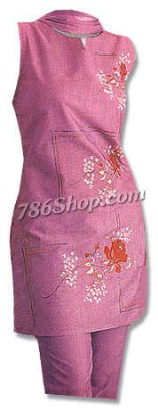 Cotton Trouser Suit | Pakistani Dresses in USA