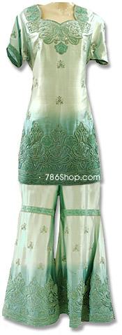 Silk Satin Sharara | Pakistani Wedding Dresses in USA