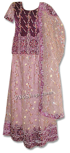 Velvet/Organza Lehnga | Pakistani Wedding Dresses in USA