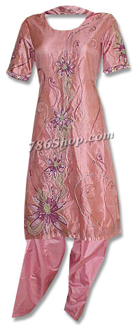 Peach Organza Suit | Pakistani Dresses in USA