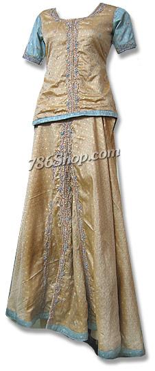 Fawn Jamawer Lehnga  | Pakistani Wedding Dresses in USA