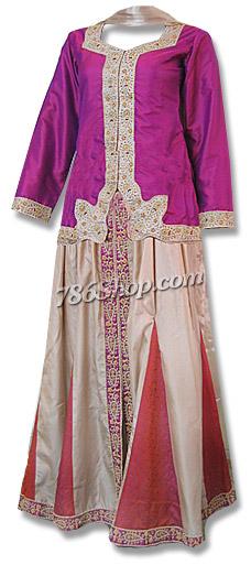 Katan Silk/Jamawer Lehnga | Pakistani Wedding Dresses in USA