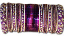 Metallic Bangles - Indigo