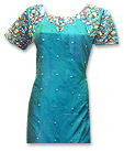 Sea Green Silk Suit