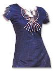 Dark Blue Georgette Suit- Pakistani Casual Clothes