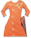 Orange Georgette Suit- Pakistani Casual Clothes
