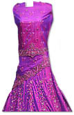 Magenta Silk Lehnga- Pakistani Wedding Dress