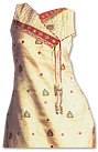 Beige/Maroon Georgette Suit�- Pakistani Casual Dress