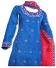 Royal Blue Silk Suit