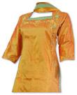 Mustard Silk Suit