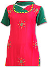 Maroon Georgette Suit - Pakistani Casual Dress