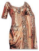 Golden Jamawar Zarri Lehnga- Pakistani Wedding Dress