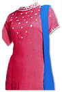Magenta/Turquoise  Georgette Suit - Indian Semi Party Dress