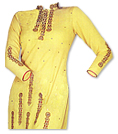 Yellow Georgette Suit- Pakistani Casual Dress