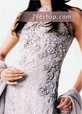 Silver Chiffon Gharara- Pakistani Party Wear Dress