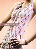 Light Pink Crinkle Chiffon Suit- Pakistani Party Wear Dress